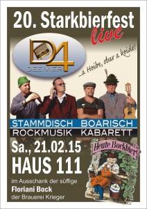 Starkbierfest 2015 DEE Vier 1